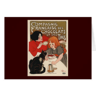 Compagnie Francaise Des Chocolats Greeting Card