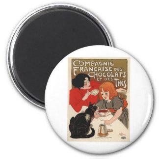 Compagnie Francaise Des Chocolats Magnet