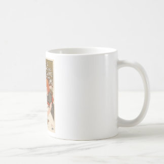 Compagnie Francaise Des Chocolats Classic White Coffee Mug