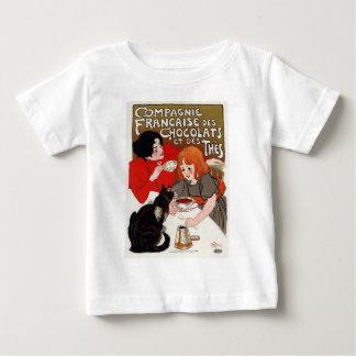 Compagnie Francaise des Chocolats, Steinlen Baby T-Shirt