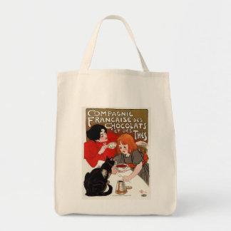 Compagnie Francaise des Chocolats, Steinlen Canvas Bag