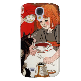 Compagnie Francaise des Chocolats Steinlen Galaxy S4 Cases
