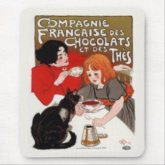 Compagnie Francaise des Chocolats, Steinlen Mouse Pad