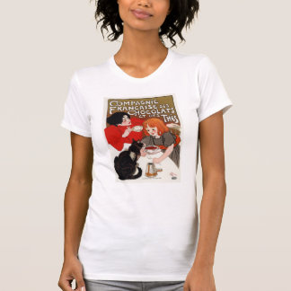 Compagnie Francaise des Chocolats, Steinlen T Shirt