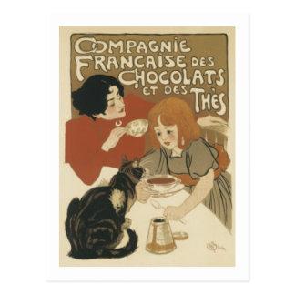 Compagnie Francaise Postcard