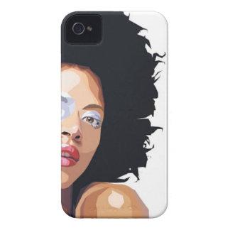 compañero Afro-céntrico de la caja de Blackberry iPhone 4 Cobertura
