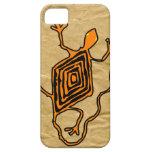 Compañero azteca del caso del iPhone 5 del lagarto iPhone 5 Cobertura