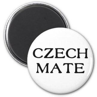 Compañero checo imán redondo 5 cm