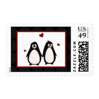 Compañero de 20 de los sellos del pingüino pares d