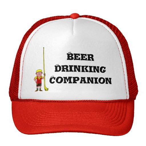 Compañero de consumición de la cerveza gorra