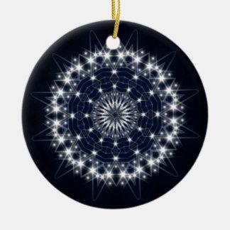 Compañero de las estrellas ornamento de navidad