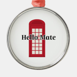 Compañero de Phonebooth_Hello Adorno Redondo Plateado