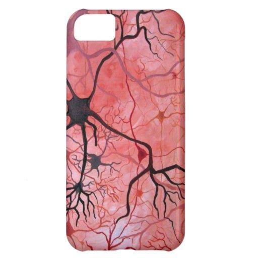 Compañero del caso de Iphone 5 de las neuronas - Funda Para iPhone 5C