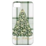 Compañero del caso del árbol de navidad iPhone5 ap iPhone 5 Case-Mate Funda
