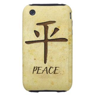 Compañero del caso del iPhone 3G/3GS de la paz Tough iPhone 3 Protector
