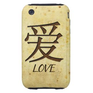 Compañero del caso del iPhone 3G/3GS del amor duro Tough iPhone 3 Cárcasas