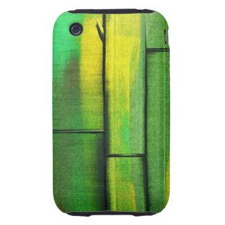 Compañero del caso del iPhone 3g/3GS del bambú 1 Tough iPhone 3 Cárcasa
