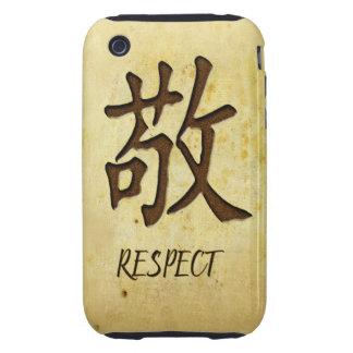 Compañero del caso del iPhone 3G/3GS del respecto Tough iPhone 3 Protectores