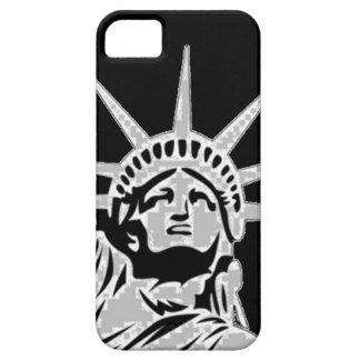 Compañero del caso del iPhone 5 de señora Liberty iPhone 5 Case-Mate Cárcasas