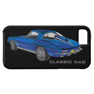 Compañero del caso del iPhone 5 del Corvette del Funda Para iPhone 5 Tough