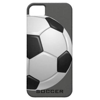 Compañero del caso del iPhone 5 del fútbol Funda Para iPhone SE/5/5s