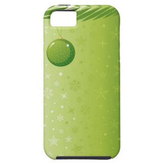 Compañero del caso del iPhone 5 del navidad iPhone 5 Case-Mate Carcasa