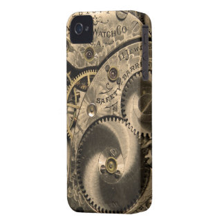 Compañero del caso del mecanismo iPhone4 del vinta iPhone 4 Case-Mate Cobertura