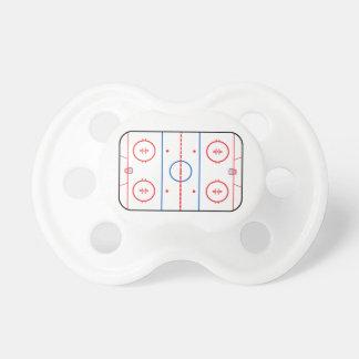 Compañero del juego de hockey del diagrama de la chupetes de bebe