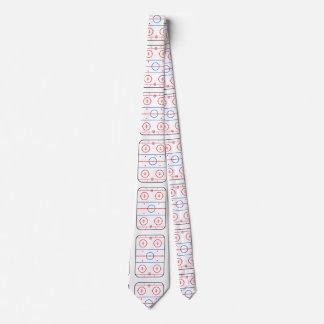 Compañero del juego de hockey del diagrama de la corbata