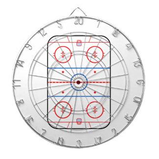 Compañero del juego de hockey del diagrama de la