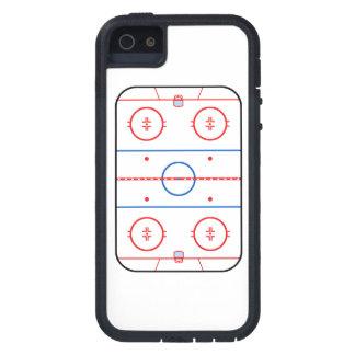 Compañero del juego de hockey del diagrama de la funda para iPhone 5 tough xtreme