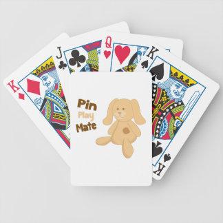Compañero del juego del Pin Baraja Cartas De Poker