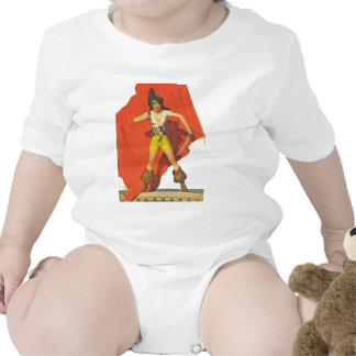 Compañero del pirata traje de bebé