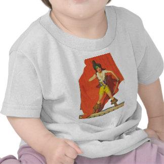 Compañero del pirata camisetas