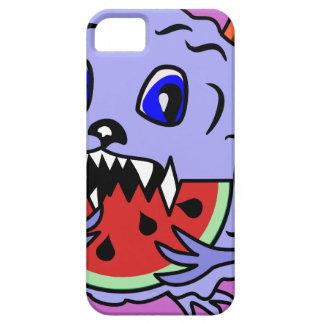 Compañero dentudo lindo y mullido IPhone4Case del iPhone 5 Carcasa