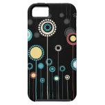 Compañero floral de moda del caso del iPhone 5 de  iPhone 5 Cárcasas