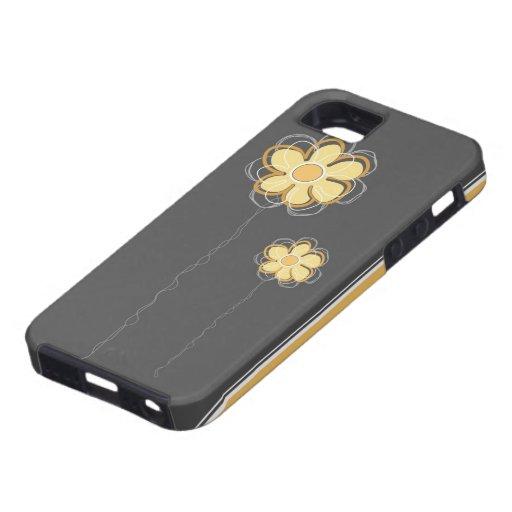 Compañero floral de moda del caso del iPhone 5 de iPhone 5 Carcasa