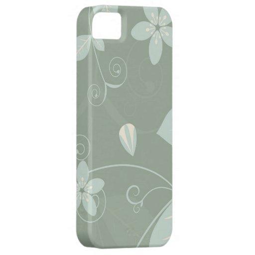 Compañero floral de moda del caso del iPhone 5 de iPhone 5 Fundas