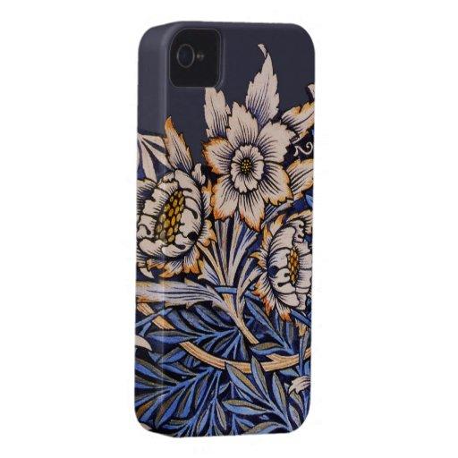Compañero floral del caso iPhone4 de Nouveau del a Case-Mate iPhone 4 Carcasa