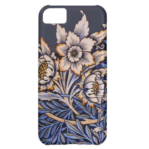 Compañero floral del caso iPhone5 de Nouveau del a