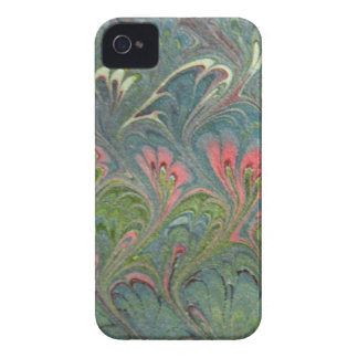 Compañero florentino de la caja del papel veteado  Case-Mate iPhone 4 protectores