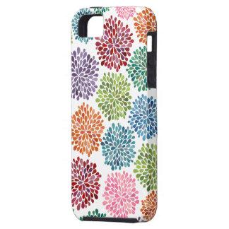Compañero hermoso del caso de Iphone de las flores iPhone 5 Carcasas