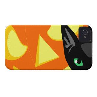 Compañero Iphone4 del caso del gato y de la calaba iPhone 4 Protector