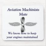 Compañero Mousepad de los maquinistas de la aviaci Alfombrilla De Raton