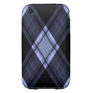 Compañero negro del caso del iPhone 3G/3GS de la iPhone 3 Tough Protectores
