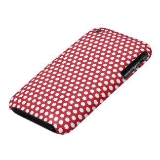 Compañero rojo y blanco del caso del iphone 3G del Case-Mate iPhone 3 Protectores