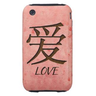 Compañero rosado del caso del iPhone 3G/3GS del iPhone 3 Tough Carcasas