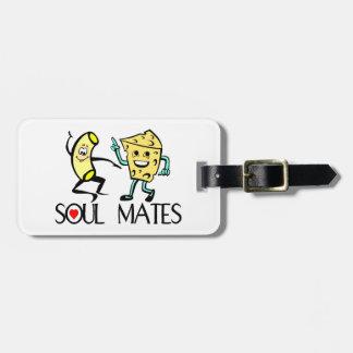 Compañeros del alma etiquetas de maletas