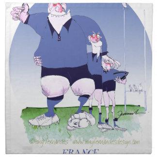 compañeros franceses del rugbi, fernandes tony servilleta
