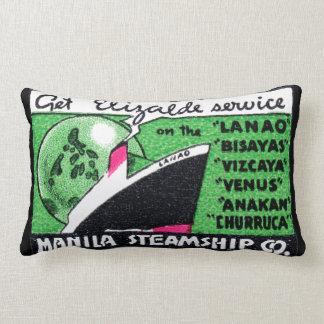 Compañía 1930 de buque de vapor de Manila Almohadas